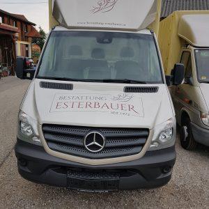 Unser neuer Transporter.
