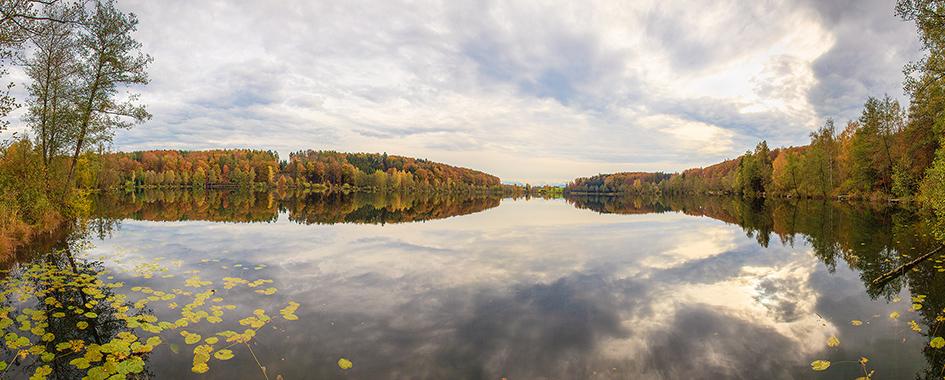 See zwischen Herbstwald, Foto: Andreas Mühlleitner